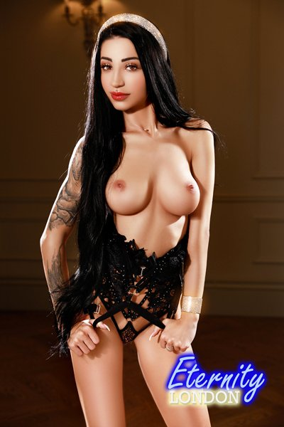 34C Young and Sexy Brunette London Escort Rose